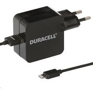 Duracell Netzladegerät Apple Lightning 2,4A