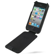 Eixo Ledertasche Flip2 f�r Apple iPhone 4, schwarz
