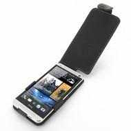 Eixo Ledertasche Flip, für HTC One (M7)