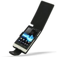 Eixo Ledertasche Flip für Sony Xperia sola