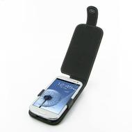 Eixo Ledertasche Flip für Samsung Galaxy S3