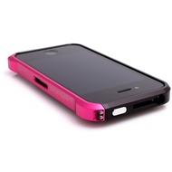 ELEMENTCASE Vapor4 für iPhone 4, schwarz-pink