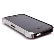 ELEMENTCASE Vapor4 für iPhone 4, schwarz-silber
