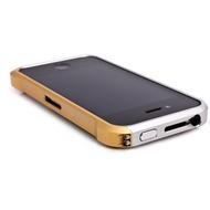 ELEMENTCASE Vapor4 für iPhone 4, silber-gold