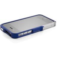 ELEMENTCASE Vapor Pro Flux für iPhone 4 /  4S, blau-silber