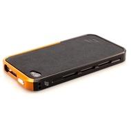ELEMENTCASE Vapor Pro Spectra für iPhone 4 /  4S, schwarz-gelb