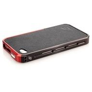ELEMENTCASE Vapor Pro Spectra für iPhone 4 /  4S, schwarz-rot