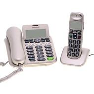 Emporia D40ABB Gro�tastentelefon-Set, silber-grau