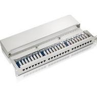 Equip C5e PatchPanel 24-Port 1HE lichtgrau (RAL7035)