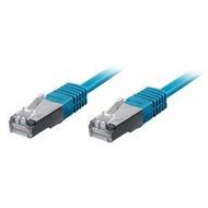 Equip Patchkabel 0,5m blau-2xRJ45 S/ STP-C6 250MHz