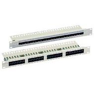 Equip PatchPanel 50-port Cat.3 ISDN/ TK LSA+ (1HE) lichtgrau