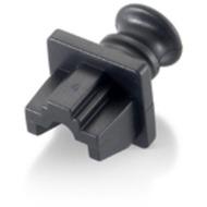 Equip Staubschutz für RJ45-Buchse, schwarz, 100 Stück
