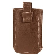 Esquire iPhone Hülle Leder 7,5 cm brown