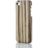 Evouni Edle Holz-Schutzhülle für iPhone 5, Golden Cane