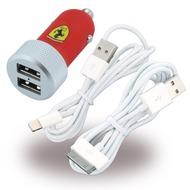 Ferrari FERUCC2UAPRE - KFZ-Ladekabel - 30-Pol + Lightning - 2,1mAh