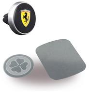 Ferrari Magnet KFZ Halterung - Lüftung - Schwarz