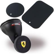 Ferrari Magnetischer KFZ Handyhalter - mit Saugnapf - Schwarz