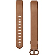FitBit ALTA HR, Accessory Band, Leather, Brown, S
