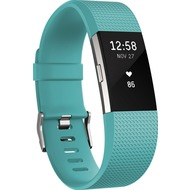 FitBit Charge 2, Teal Silver, Large