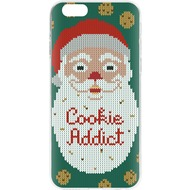 Flavr Cardcase Ugly Xmas Sweater Cookie Addict for iPhone 6/ 6s mehrfarbig