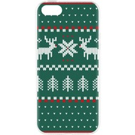 Flavr Cardcase Ugly Xmas Sweater for iPhone 5/ 5S/ SE grün