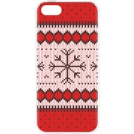 Flavr Cardcase Ugly Xmas Sweater for iPhone 5/ 5S/ SE rot