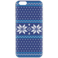 Flavr Cardcase Ugly Xmas Sweater for iPhone 6/ 6s blau