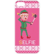 Flavr Cardcase Ugly Xmas Sweater Selfie Elfie for iPhone 5/ 5S/ SE colourful