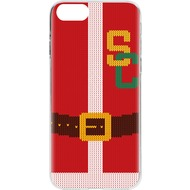 Flavr Case Ugly Xmas Sweater College Santa for iPhone 7 mehrfarbig