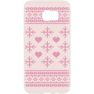 Flavr Case Ugly Xmas Sweater for Galaxy S7 Edge pink