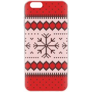 Flavr Case Ugly Xmas Sweater for iPhone 6/ 6s rot