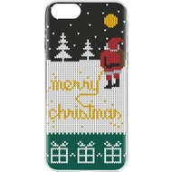 Flavr Case Ugly Xmas Sweater Yellow Snow for iPhone 7 mehrfarbig