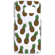 Flavr iPlate Ananas for Galaxy S7 mehrfarbig