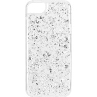 Flavr iPlate Flakes for iPhone 5/ 5S/ SE silber