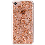 Flavr iPlate Flakes for iPhone 6/ 6s/ 7 rose gold colored