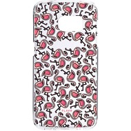 Flavr iPlate Flamingos for Galaxy S7 mehrfarbig