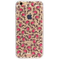 Flavr iPlate Flamingos for iPhone 6/ 6s mehrfarbig