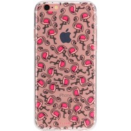 Flavr iPlate Flamingos for iPhone 7 mehrfarbig