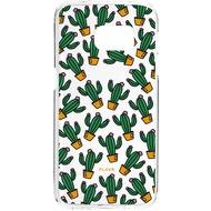 Flavr iPlate Kaktus for Galaxy S7 Edge mehrfarbig