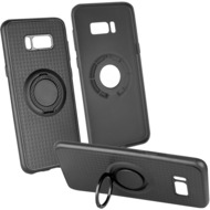 Fontastic Backcover Carry 4 in 1 schwarz komp. mit Samsung Galaxy S8 Plus
