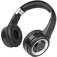 Fontastic Bluetooth On-Ear Headphone BOOM, schwarz/  silber