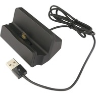 Fontastic Dockingstation USB auf Typ-C Integriertes USB-Kabel, Laden und Synchronisieren