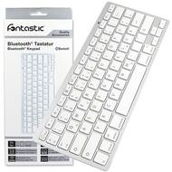 Fontastic Drahtloses Keyboard silber BT V3.0 Klasse 2 QWERTZ