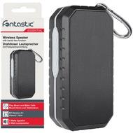 Fontastic Essential Essential Drahtloser Lautsprecher schwarz /  grau Spritzwassergeschütz, Freisprecheinrichtung