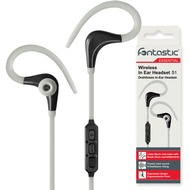 Fontastic Essential Essential Drahtloses In-Ear Headset S1 grau /  sw BT Sportive Headset