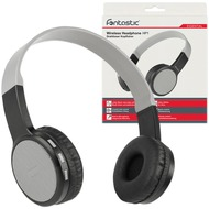 Fontastic Essential Drahtloses On-Ear Headphone HP1 sw/ grau BT High Quality Speaker, Mic and Line-In