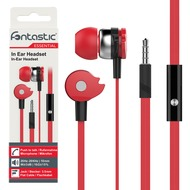Fontastic Essential In-Ear Stereo-Headset A1 - rot/ schwarz