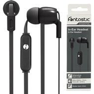 Fontastic Essential In-Ear Stereo-Headset schwarz