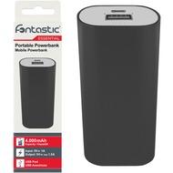 Fontastic Essential Essential Power Bank 4.0 4000mAh schwarz USB max. 1.5A