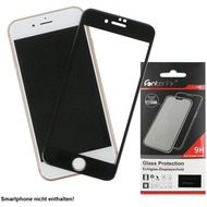 Fontastic Full Cover Schutzglas Schwarz komp. mit Apple iPhone 7/ 8